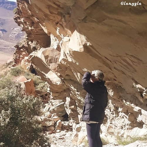 Glengyle - cave