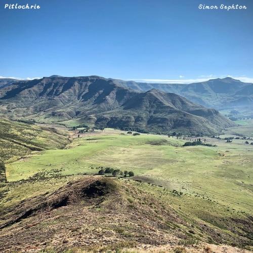 Pitlochrie - birds eye view