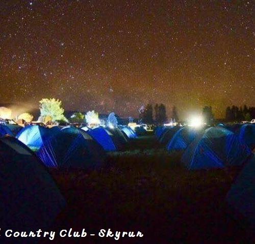 Skyrun - tents