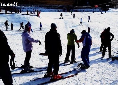 Tiffindell - ski class