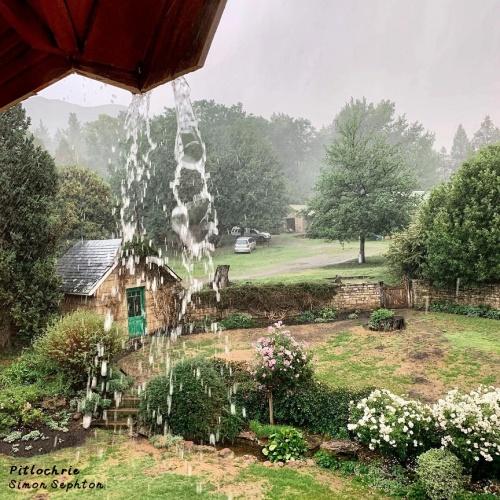 Pitlochrie - rain